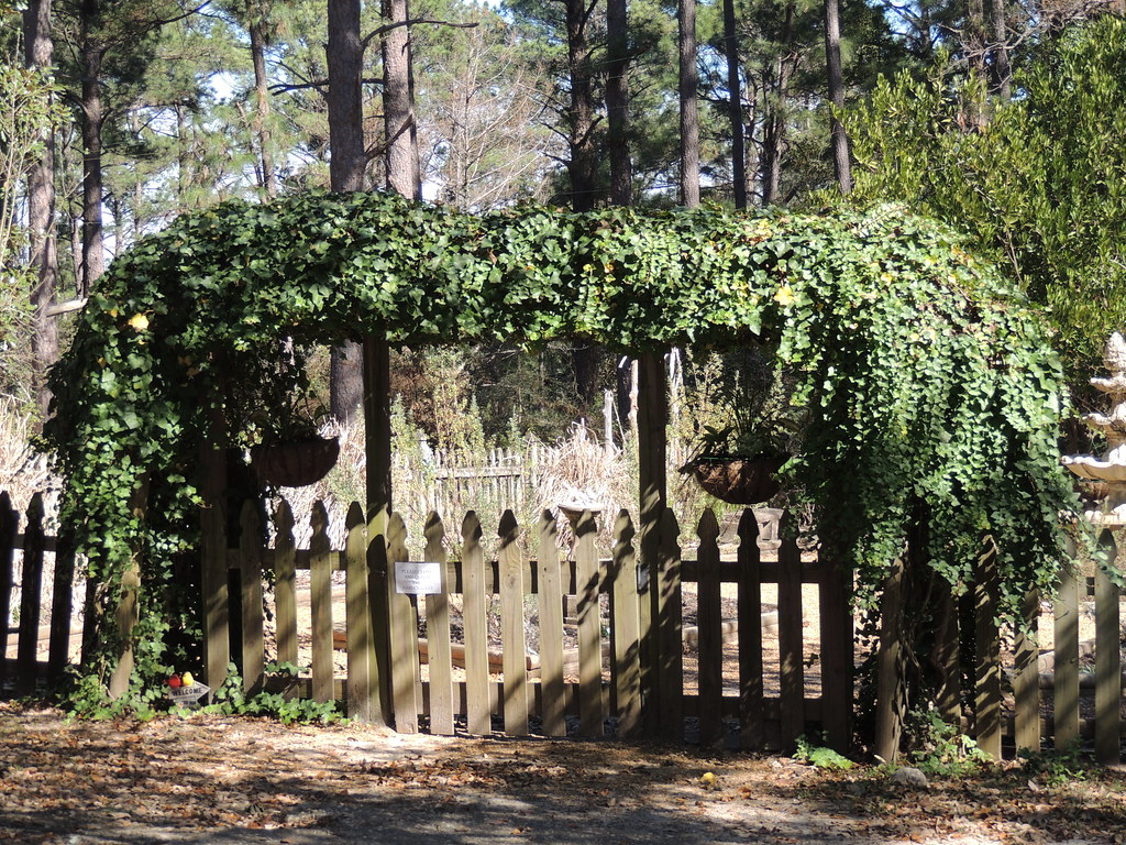Herb Garden Fence | By Maorlando   God Keeps Me As I Lean On Him!