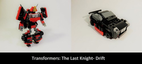 Lego Transformers The Last Knight- Drift