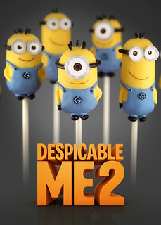 Despicable Me 2 Cake Pops | by Bakerella