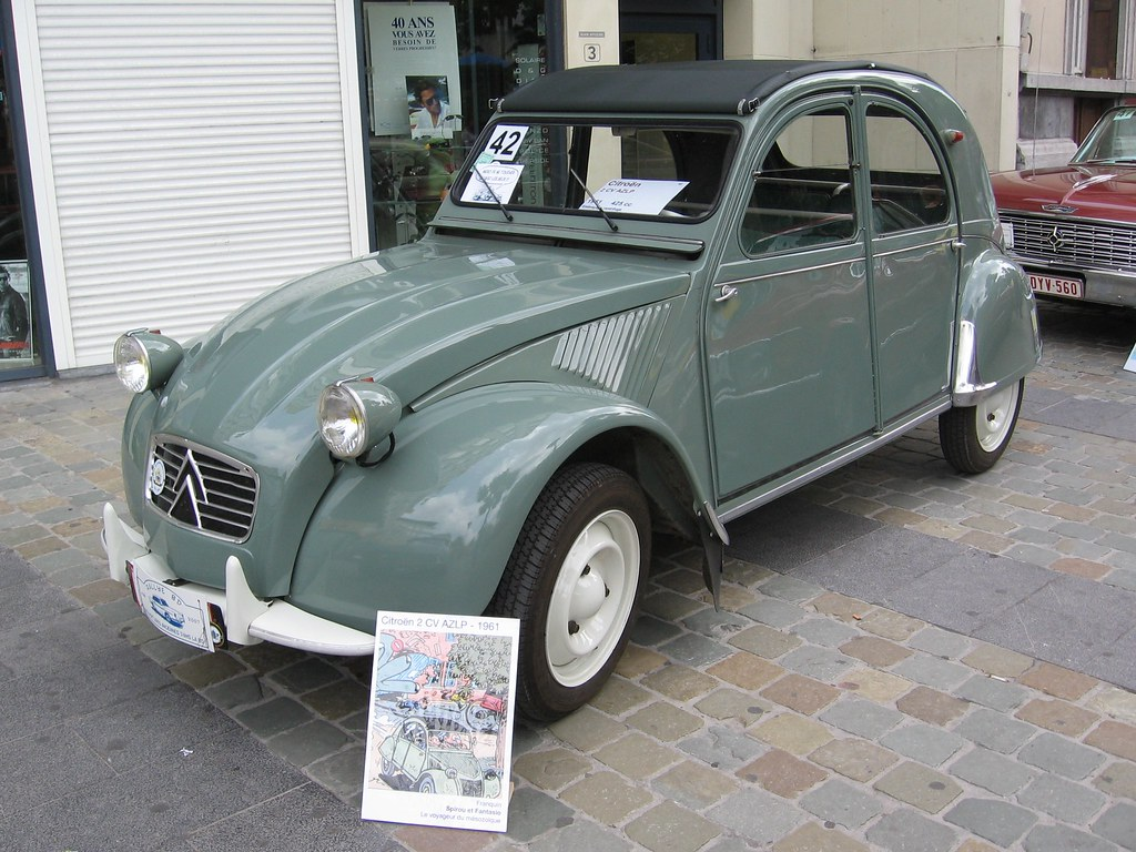 citroen 2cv az 1961