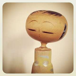 Vintage Japanese Kokeshi Doll. | by Alice et Christine