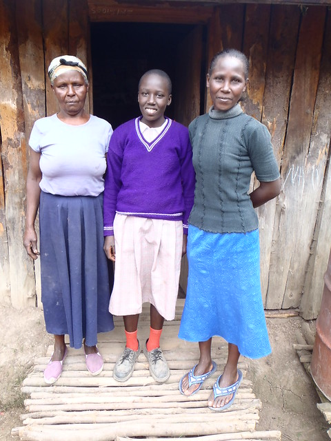 Grandmother, Njeri & Auntie
