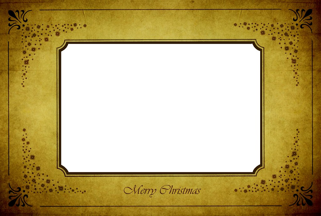 Merry Christmas Frame *   PNG-Ensure you download the orig…   Flickr