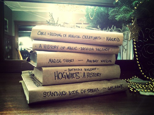 Textbooks for the Hogwarts Christmas term | by didofoot