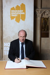 Holocaust Memorial Trust Book of Commitment signing 22.01.14 | by Damian Green MP