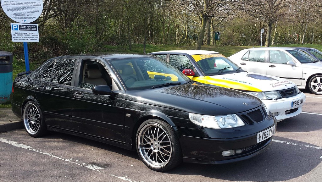 Saab 9 5 Aero 2003 Uk Saabs Midlands Mini Meet Flickr