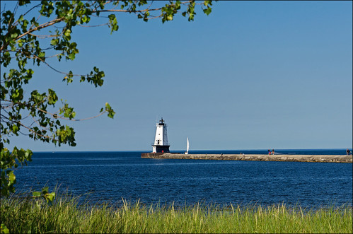 Ludington Light | by Tom Gill.