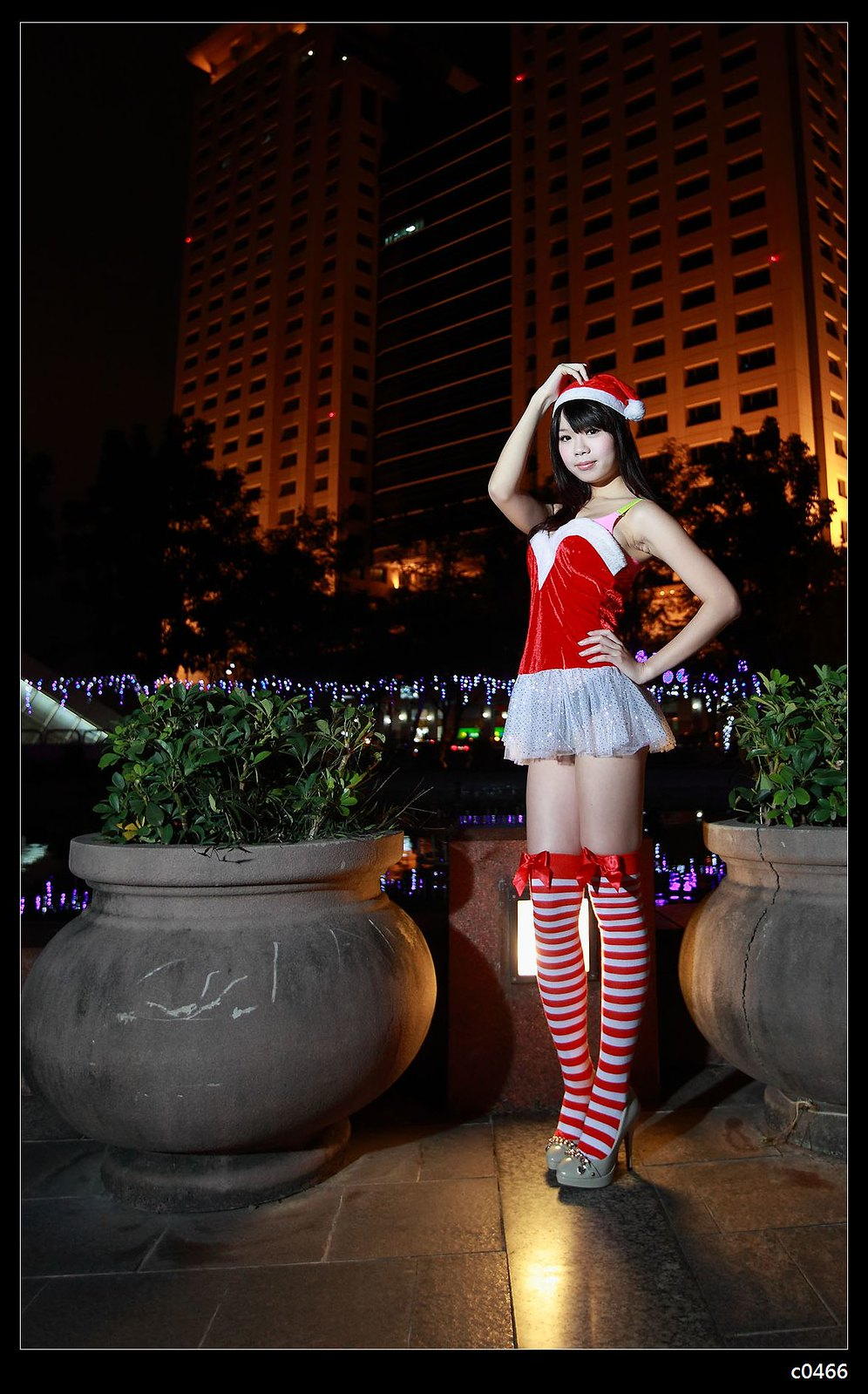 lovely and sexy Christmas girl Flickr
