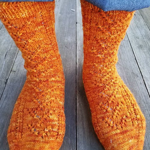 New socks! #knitting #tckwintercamp2017