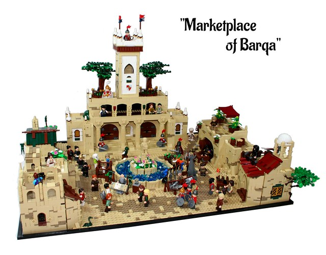 Marketplace of Barqa