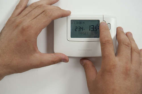 Thermostat home | by CORGI HomePlan