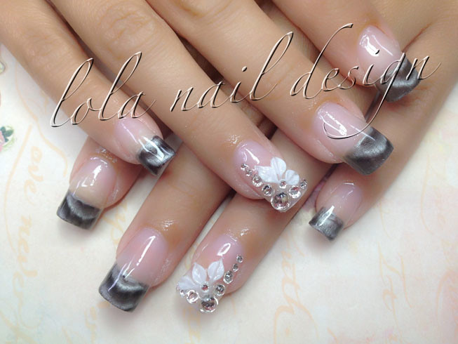 Magnetic Nail Design Anna Nails Flickr