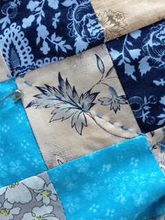 Hand quilting detail | by Lizzet *