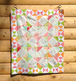 Scrumptious Baby Quilt Top | by CoraQuilts~Carla