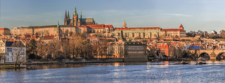 Panorama of Prague Castle | by prague.czech.photo