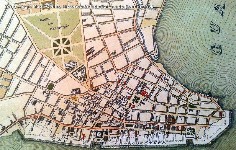 Porto Alegre Mapa Centro Histrico Cidade Baixa e do Bomfi  Flickr