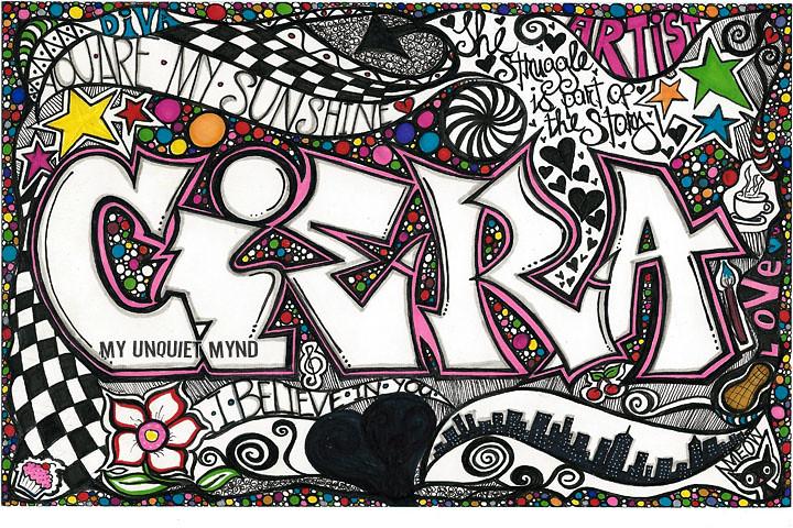 Ciera Doodle Art