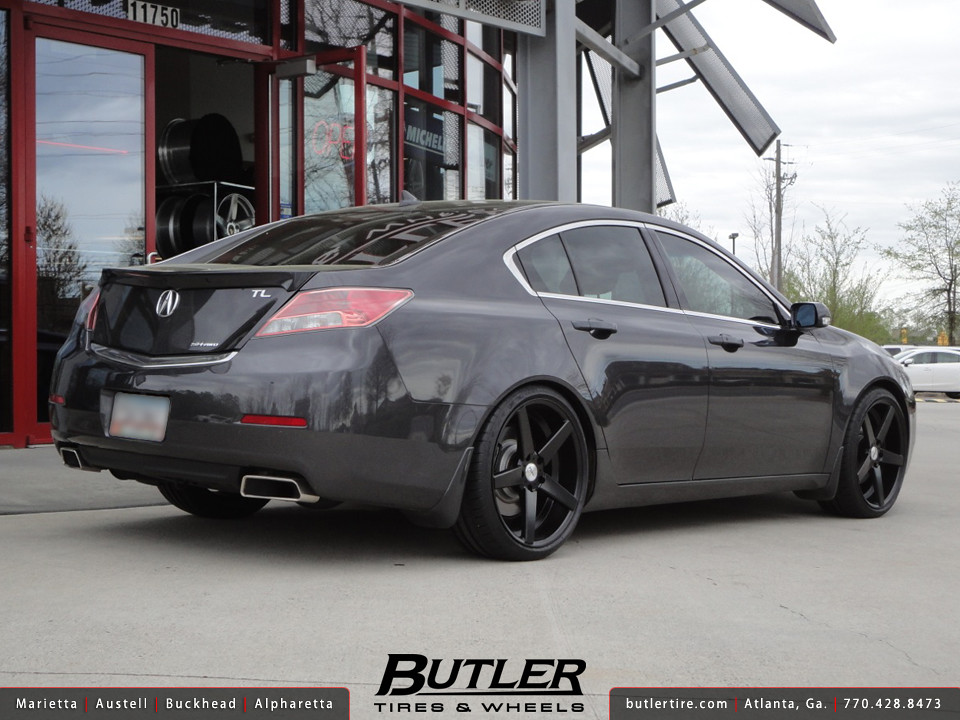 Acura TL Type SH With In TSW Sochi Wheels Additional Pic Flickr - Acura tl tires