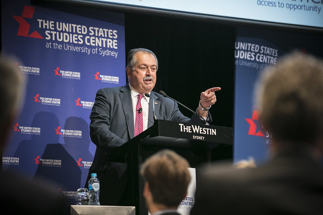 Speech by Andrew Liveris, Chairman and CEO of Dow Chemical Company