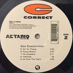 AL' TARIQ:GOD CONNECTIONS(LABEL SIDE-B)