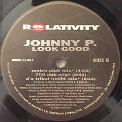 JOHNNY P.:LOOK GOOD(LABEL SIDE-B)