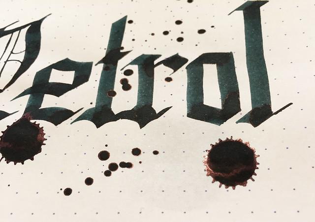 Ink Shot Review Lamy Petrol @Fontoplum0 @Lamy 13