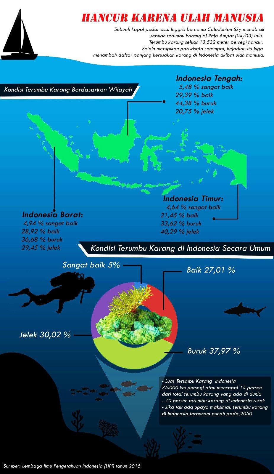 Terumbu karang lipi