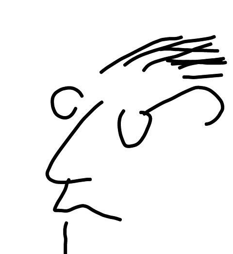 Il poeta Amato porta gli occhiali spessi
