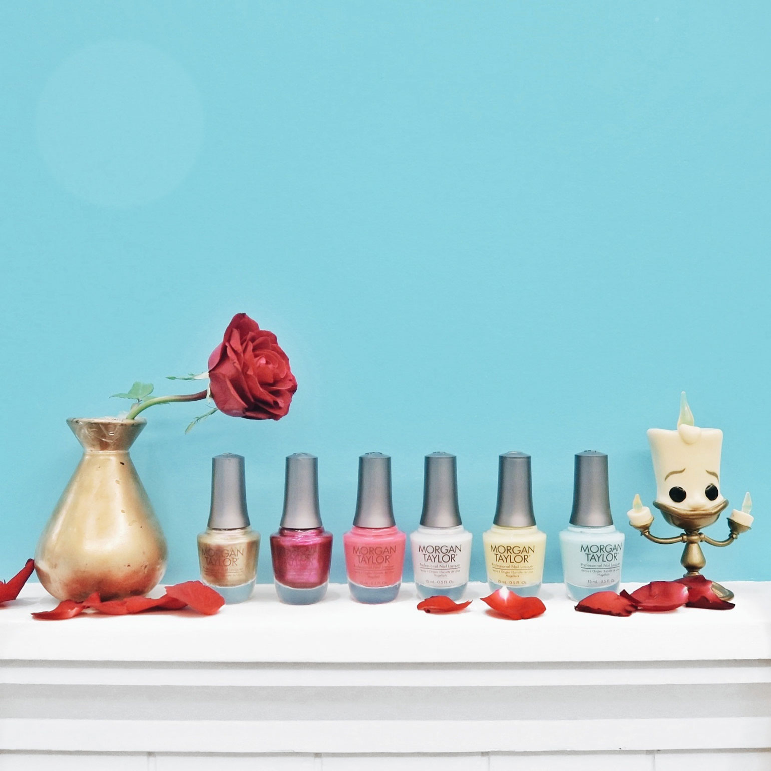7 Morgan Taylor Beauty and the Beast Collection