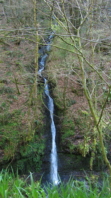 Another waterfall in Lydford Gorge