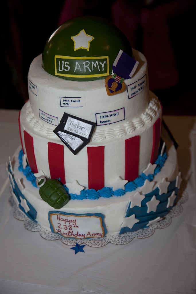 Army birthday cake competition Cake entered by Patrice Tay Flickr