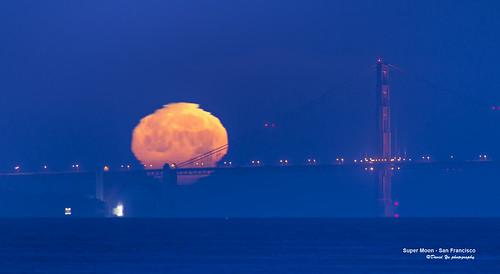 Super Moon - San Francisco