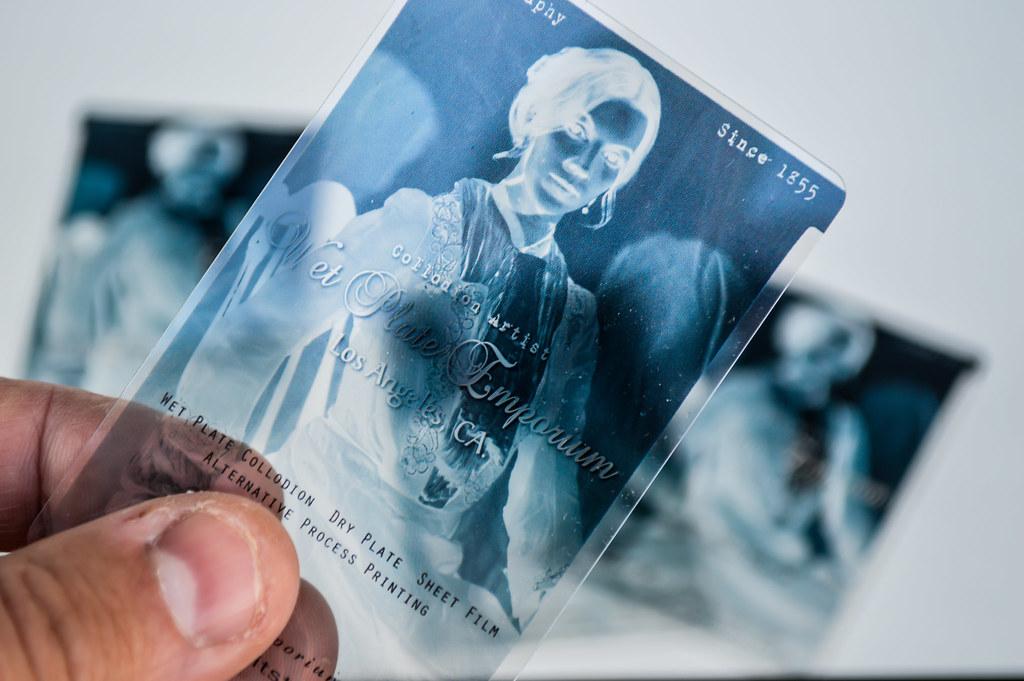 Film Negative Transparent Business Card | weddingportraitstu… | Flickr