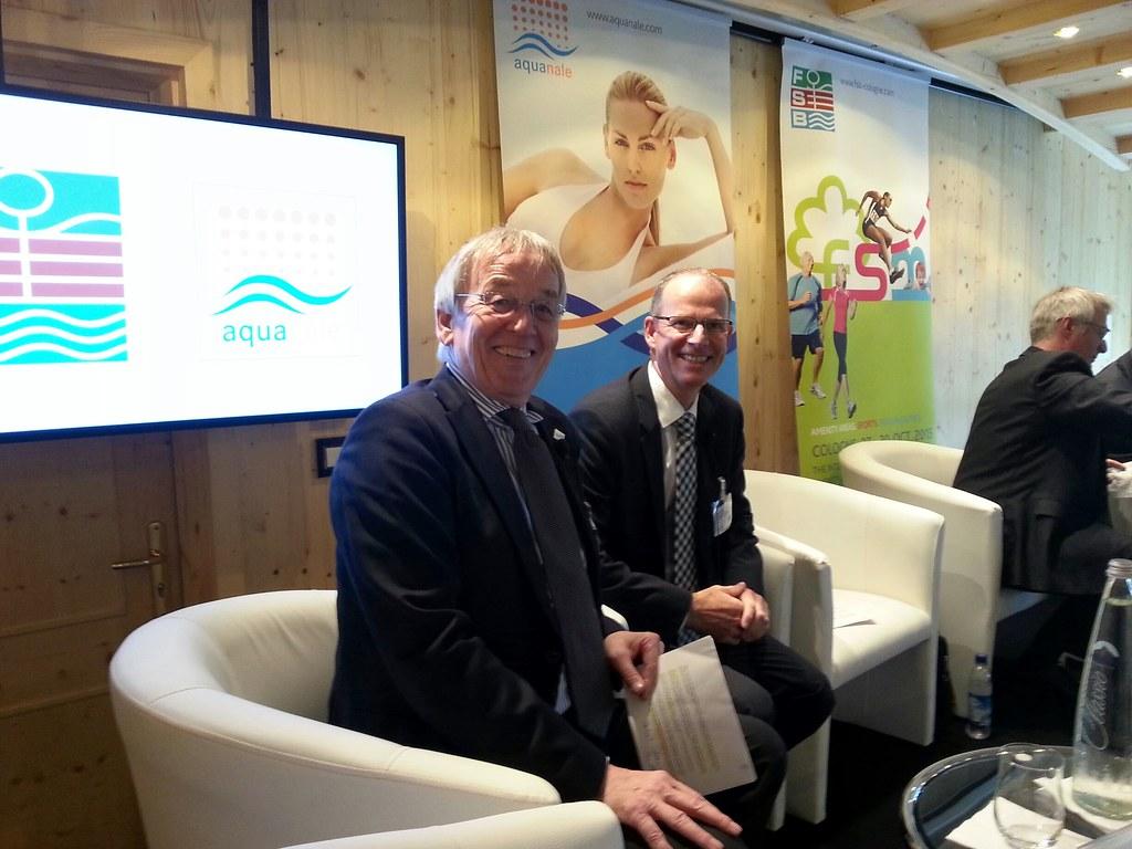 bsw-Präsident Dietmar Rogg (rechts) mit bsw-Geschäftsführe… | Flickr