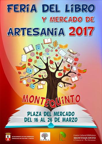 Cartel de la Feria del Libro Montequinto