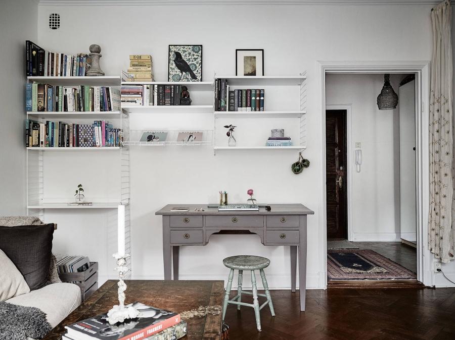 Modern Bohemian Meets Scandinavian Home