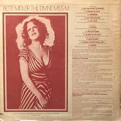 BETTE MIDDLER:THE DIVINE MISS M(JACKET B)