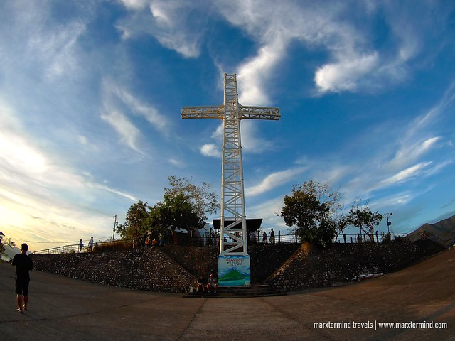 Giant Cross on Top of Mount Tapyas in Coron