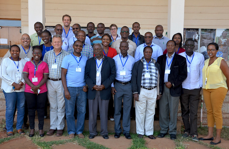 Group photo: Workshop on delivery of animal health services in extensive livestock production systems