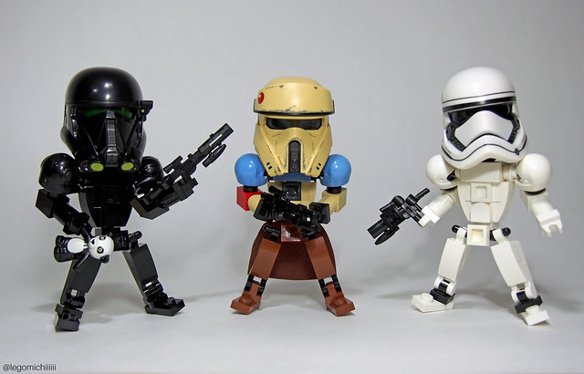 LEGO Star Wars Big Heads