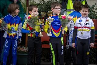 Podiums Ecole de Vélo