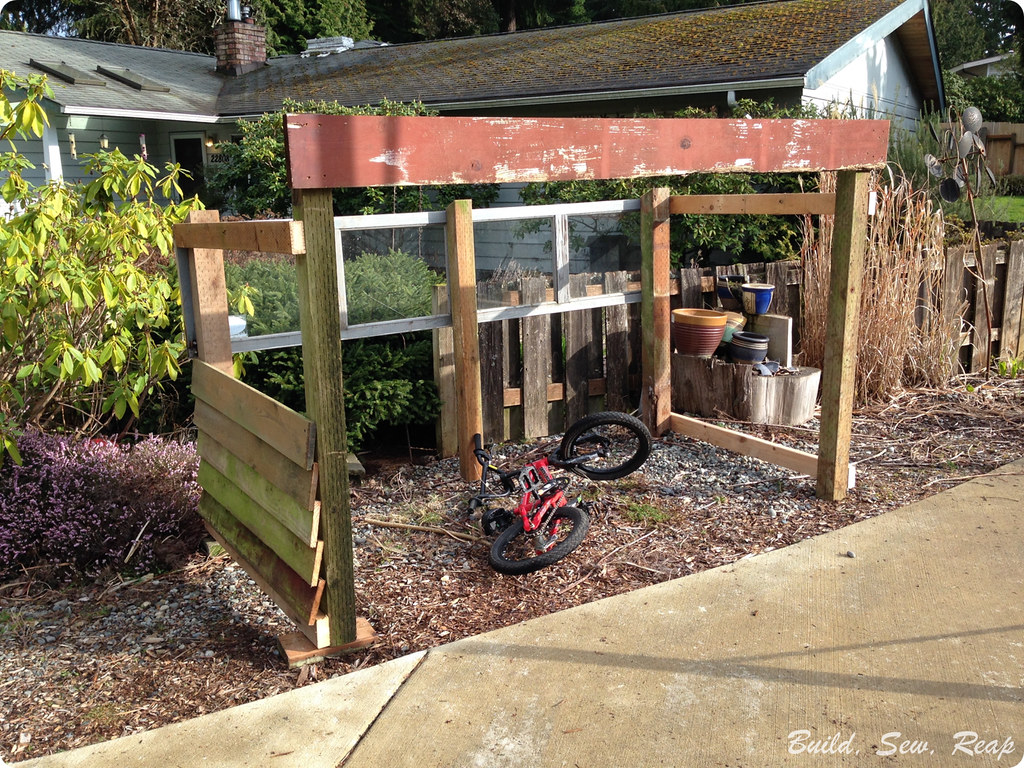 Bike Garage by Julie at Build Sew Reap