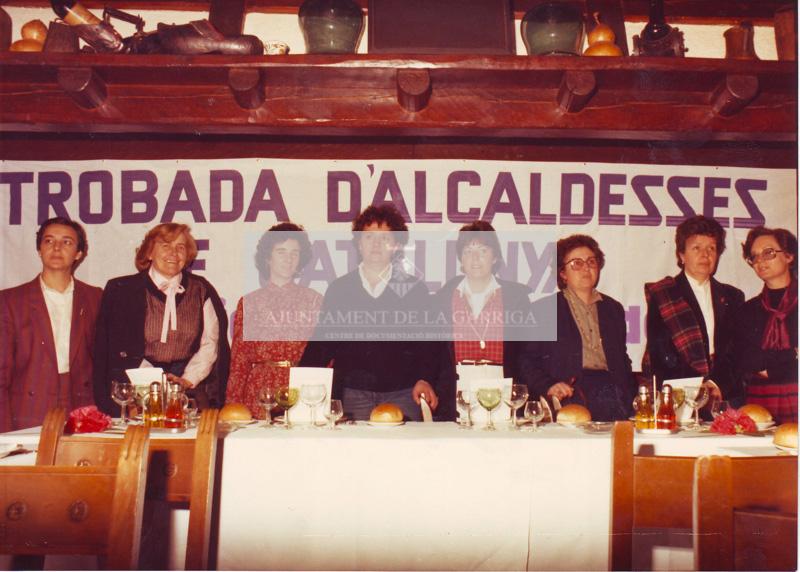 Trobada alcaldesses de Catalunya 12/03/1983
