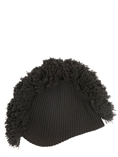 86979616afe ... ONITSUKA TIGER PER ANDREA POMPILIO CREST WOOL RIB KNIT HAT Fashion  Luxury 2014