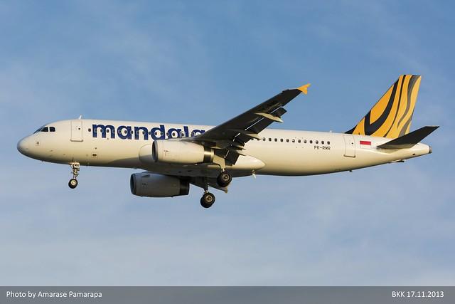 PK-RMR // Tigerair Mandala Airbus A320-232