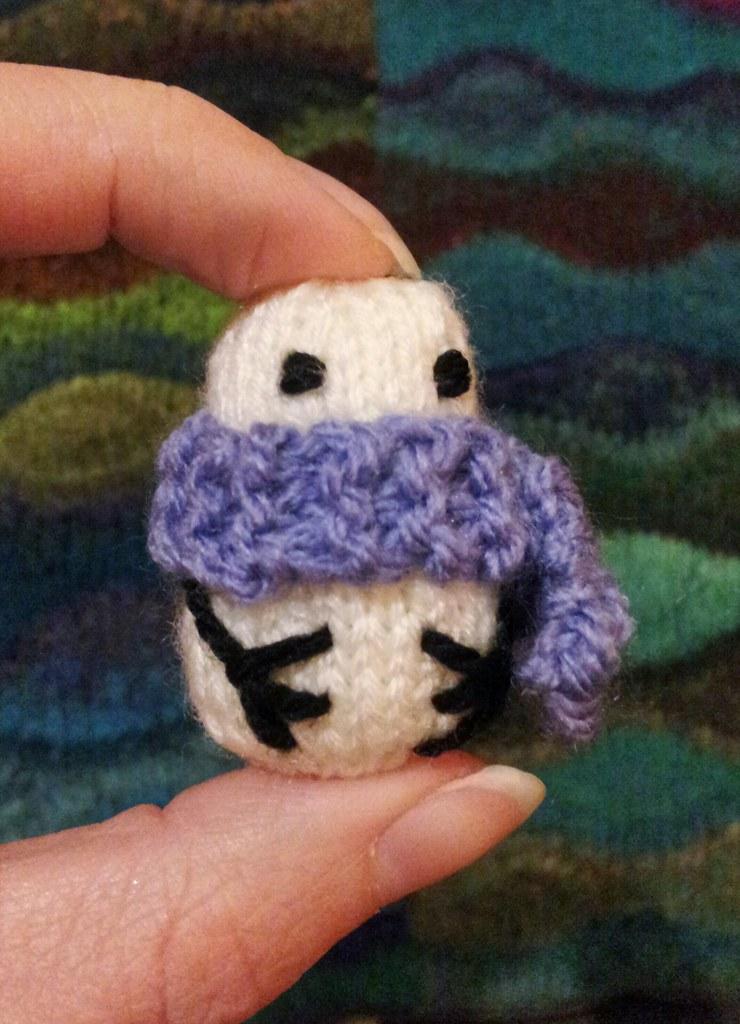 Mochimochi Snowman Knitting Pattern By Anna Hracovec Tanya Hart