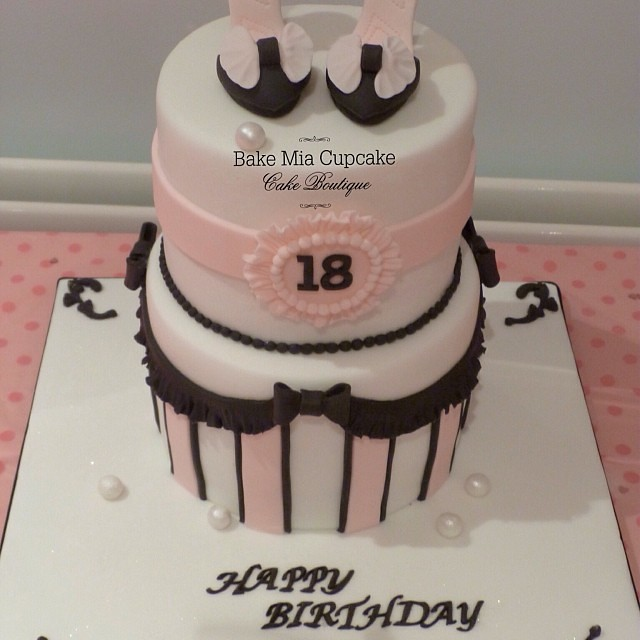 Girls 18th Birthday CakeMade for my gorgeous nieces 1 Flickr
