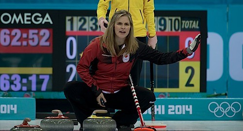 Sochi Ru.Feb17-2014.Winter Olympic Games.Team Canada skip Jennifer Jones.WCF/michael burns photo | by seasonofchampions