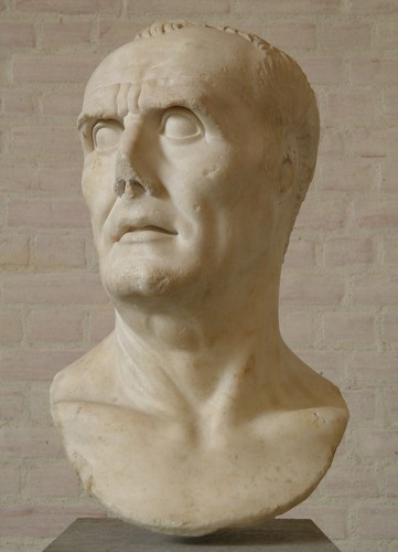 Male portrait, so-called Gaius Marius, copy of the Augustan age from portrait of the 2nd century B.C., Glyptothek, Munich | by Following Hadrian
