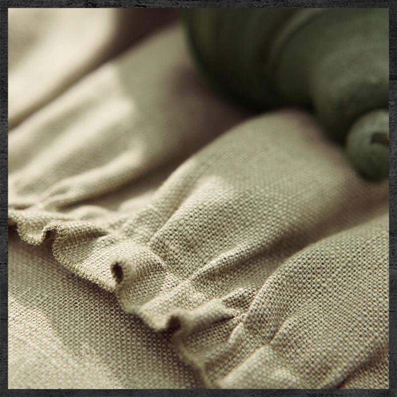《現貨免運費》新款 百褶裙 復古燈籠袖 棉麻 民族風刺繡 連衣裙 洋裝 A6028 Baonizi 寶妮子